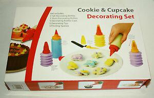 Cupcake & Cookie Decorating Set, Sugarcraft, Cake Decorating, Baking with Kids