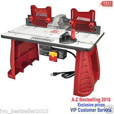 Router Woodworking Table Craftsman Garage Wood Work Shop Precision Tool New Fast