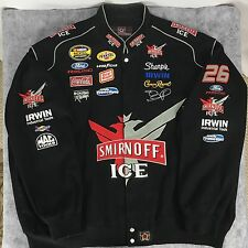 (6XL) Roush Racing Jacket Smirnoff Ice Jamie McMurray #26 NASCAR - EXCELLENT!