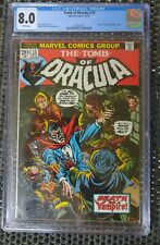 Tomb Of Dracula # 13 1973 CGC 8.0 White Pages Blade Marvel Comics