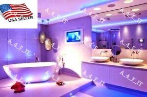 Bath Tub Sink Mirror LED Strip Lighting Complete Package Kit Lamp Light wireless