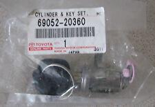 Toyota Celica 93-99 NSF Nearside Left Door Lock Barrel Key Set 6905220360 New