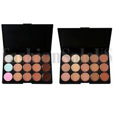 Nuevo Kit de contorno de cara maquillaje corrector crema Resaltador 15 Colores Paleta Kit