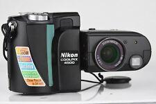 Nikon COOLPIX 4500 4.0MP Digital Camera ~ Black~~Excel + ~~Bundle~~