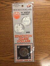 WAYNE GRETZKY HOCKEY DOLLAR 1983 EDMONTON OILERS ORIGINAL PACKAGE