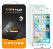 3X Supershieldz Tempered Glass Screen Protector Saver For Apple iPhone SE