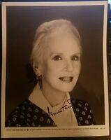Jessica Tandy  Autograph Autogramm auf  Foto (20,2 cm x 25,5 cm)