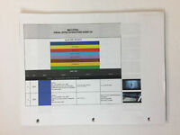 MAX STEEL set used paperwork ~ VISUAL EFFECTS SHOOTING GUIDE V.6