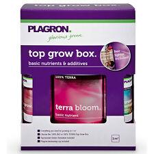 Plagron Top Grow Box 100% Terra soil kit fertilizzanti coltivazione indoor