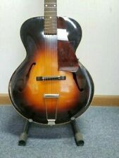 """1935 Pre-War Gibson L-50 16"""" Archtop, in great condition & w/ Geib purple case!"""