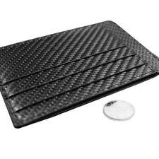 Slim Wallet Front Pocket Carbon Fiber Wallet Minimalist Thin Credit Card Holder