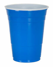 Solo Blue American Party Cups 16oz / 455ml - Set of 1000 - Disposable Party Cups