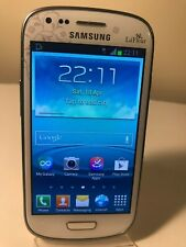 Samsung Galaxy S III Mini I8190N - 8GB - La Fleur White (Unlocked) Smartphone