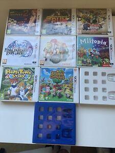 10 X Nintendo 3DS Empty Cases