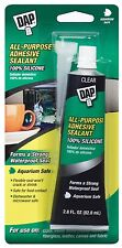 DAP® All-Purpose 100% Silicone Adhesive Sealant for Aquarium, Clear