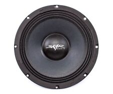 NEW SKAR AUDIO FSX8-4 350-WATT SINGLE 8-INCH 4 OHM MID-RANGE LOUDSPEAKER