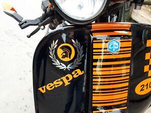 Trojan laurel scooter sticker Chrome reggae ska mod northern soul LI TV SX GP PX