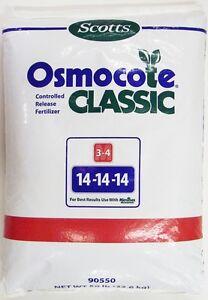 Scotts Osmocote Classic Controlled Release Fertilizer 14-14-14