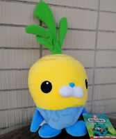 Octonauts Cartoon Character 8'' Vegimal Tunip Stuffed Animal Plush Toy Lovely