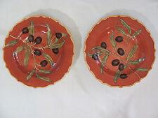Portmeirion Duet Collection-Olive Bistro-Set of 2 Individual Pasta/Salad Bowls