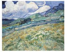 MODERN ART PRINT Landscape from Saint-Remy, 1889 - Vincent van Gogh Poster 13x19