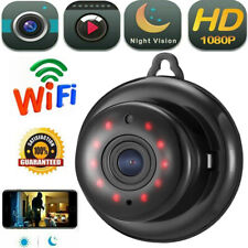Funk üBerwachungskamera Mini IP Kamera 1080P HD Wifi Wlan Nachtsicht Webcam DE