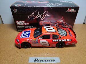 2006 Dale Earnhardt Jr #8 Menards Daytona Win DEI Chevy 1:24 NASCAR Action MIB