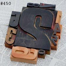 Mixed Numbers 0 9 Letterpress Wood Printing Block Wooden Type Stamp Vintage 123