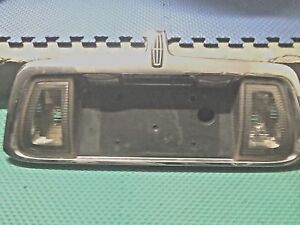 2000-2001-2002  LINCOLN LS REAR LICENCE PLATE BRACKET WITH LIGHTS