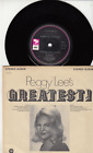 PEGGY LEE - GREATEST HITS EP with PICTURE COVER - FEVER - GREAT SHAPE photo
