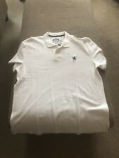 Mens Express Fitted Polo Shirt - NWT XXL WHITE