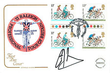 Chris HOY Signed Autograph First Day Cover British Cycling FDC COA AFTAL