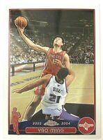 2004 Topps Chrome Yao Ming Basketball Card Near Mint!