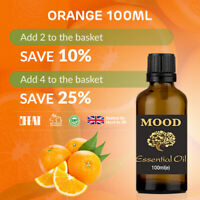 Essential Oil Pure Oils 100ml Aromatherapy Natural Fragrances Orange Diffuser
