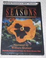 SEASONS  IMAX Originally ( DVD ) William Shatner Nar. Beautiful  Wonderful  WOW!