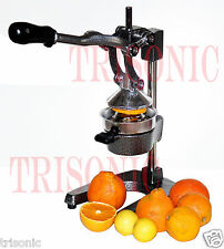 Heavy Duty Commercial Pro Citrus Press Orange Manual Extractor Squeezer Juicer