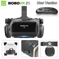 VR 120° Virtual Reality Glasses FOV 3D VR Stereo Headset With Remote Gamepad
