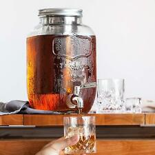 1 Gal Cold Brew Coffee Maker Iced Tea Maker Infuser System Mason Jar Dispenser