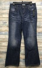 Fashion Bug Jeans 10 x 33 Women's Flare Stretch jeans. (I-63,65)