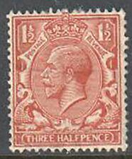 Great Britain George V 3 Half Pence 1924 Used
