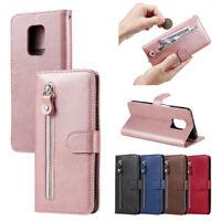 Luxury Retro Flip Case Protective Leather Wallet Cover For Xiaomi Redmi Phones