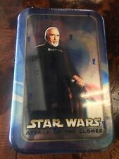 Star Wars Count Dooku Tin Topps Movie Cards Case Of (20) Attack Of The Clones