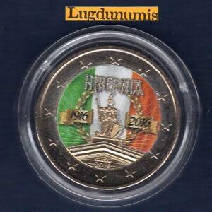2 Euro Commémo Couleur Color Irlande 2016 Insurrection de Pâques – Ireland
