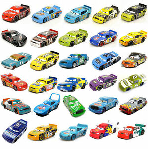 Pixar Cars1:55 Diecast Racers No.84 Mcqueen Metal Mini Rare Kids BoysToy Gift AU