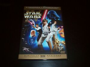 Star Wars  IV: A New Hope DVD 2-Disc Limited Edition Slim Case Han Shoots First