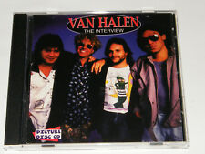 Van Halen - The Interview Rare UK 1995 Interview Picture Disc CD