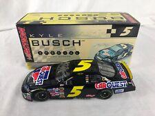 2006 Action Autograph Kyle Busch #5 Carquest 1/24 Scale Stock Car NASCAR Diecast