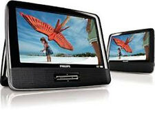 "Philips PD9012  Multi-Region Portable DVD Player with Dual 9"" LCD Car Kit"