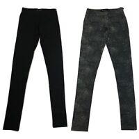 Womens Fenchurch Black,Grey Splash Lounge Wear Athleisure Leggings NEW