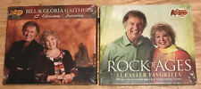 Bill and Gloria Gaither 2 cd 12 Christmas Favorites/12 Easter ROCK OF AGES NEW